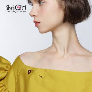 She's Girl茜子 原创气质草莓胸针 时尚胸花 首饰流行饰品