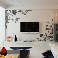 亚克力3d立体自粘墙贴客厅卧室电视背景墙房间影视墙壁纸装饰品