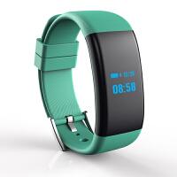 心率血压血氧疲劳度智能手环游泳防水运动提醒手表 绿