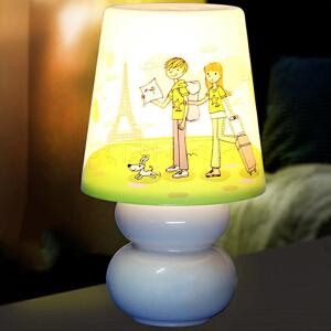 御目 小夜灯 插电led遥控开关创意智能睡眠小夜灯学生宿舍卧室床头灯喂奶夜光小礼品灯 创意灯具