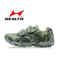 新海尔斯迷彩鞋防滑耐磨透气防水男女跑步鞋部队训练鞋