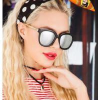 新款 防紫外线墨镜   太阳眼镜女潮牌圆脸 大方框复古 墨镜    支持礼品卡
