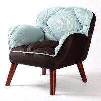 御目 沙发 懒人沙发榻榻米单人小沙发布艺沙发凳子小户型沙发凳免安装休闲沙发沙发椅简约现代懒人椅 创意家具