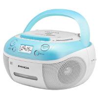 【当当自营】熊猫(PANDA) CD-860 手提式DVD播放机复读机CD机磁带U盘MP3录音机收录机 蓝色