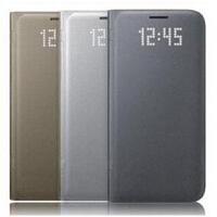 三星S7原装镜面皮套 三星s7手机壳 三星s7手机套 三星Galaxy S7 G9300 G930A原装镜面皮套 原装手机壳 手机套 保护壳 手机保护套 外壳 手机皮套 翻盖保护套 智能镜面皮套