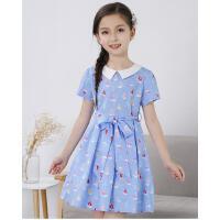 童装新款中大童韩版儿童短袖纯棉公主女童夏装连衣裙裙子夏季可礼品卡支付