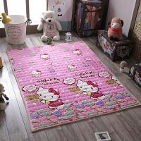 加厚法莱绒可爱地垫毛毯宿舍沙发瑜伽垫客厅茶几卧室床边地毯