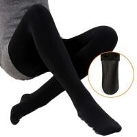 连袜裤瘦腿加绒打底裤保暖裤显瘦弹力紧身女裤弹力外穿秋冬季
