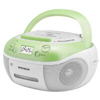 【当当自营】熊猫(PANDA) CD-860 手提式DVD播放机复读机CD机磁带U盘MP3录音机收录机 绿色