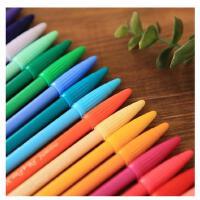 [特]日韩国文具 慕娜美 monami3000 韩版进口彩色笔 水彩笔水性笔