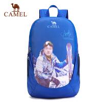 camel骆驼户外折叠背包 19L越野徒步户外时尚休闲双肩包