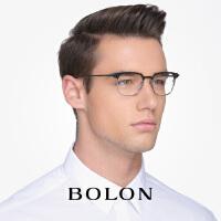 暴龙高端商务光学眼镜男款平光镜斯文绅士全框近视眼镜框BT126