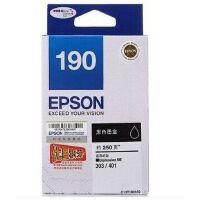 爱普生(Epson)T1901黑色墨盒 C13T190180 190XL黑色高容墨盒 T1902青色 T1903洋红色  T1904黄色 彩色套装墨盒 (适用ME-303/ME-401)