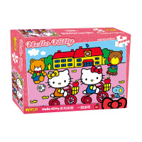 HelloKitty凯蒂猫盒装拼图200片儿童拼图益智玩具 4款可选
