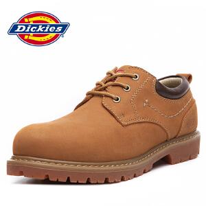 Dickies 休闲皮鞋男士欧美潮流工装鞋圆头系带男鞋潮鞋 163M50LXS73