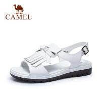 camel骆驼女鞋 2017春季新款 简约休闲女凉鞋舒适 女士凉鞋