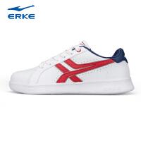 鸿星尔克男鞋ERKE滑板鞋 都市时尚百搭韩版潮流耐磨白色休闲鞋子