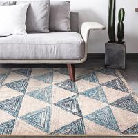 圣瓦伦丁 北欧客厅茶几沙发地毯现代简约 宜家卧室床边毯长方形大