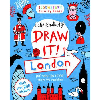 Bloomsbury Activity Books: Draw It! London