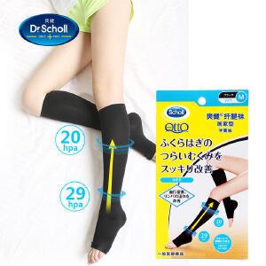 【爽健官方旗舰店】日本QTTO 纤腿袜 居家半筒袜 弹力袜压力袜