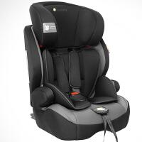 【当当自营】英国zazababy 儿童安全座椅9月-12岁isofix硬接口 黑灰 Za-2180Pro