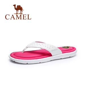 Camel/骆驼 女鞋2017夏季新品 休闲拖鞋女 简约耐磨防滑凉拖鞋