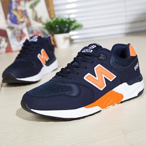 新百伦阿迪 2017春季新款增高鞋男士旅游鞋运动休闲鞋子板鞋N字鞋