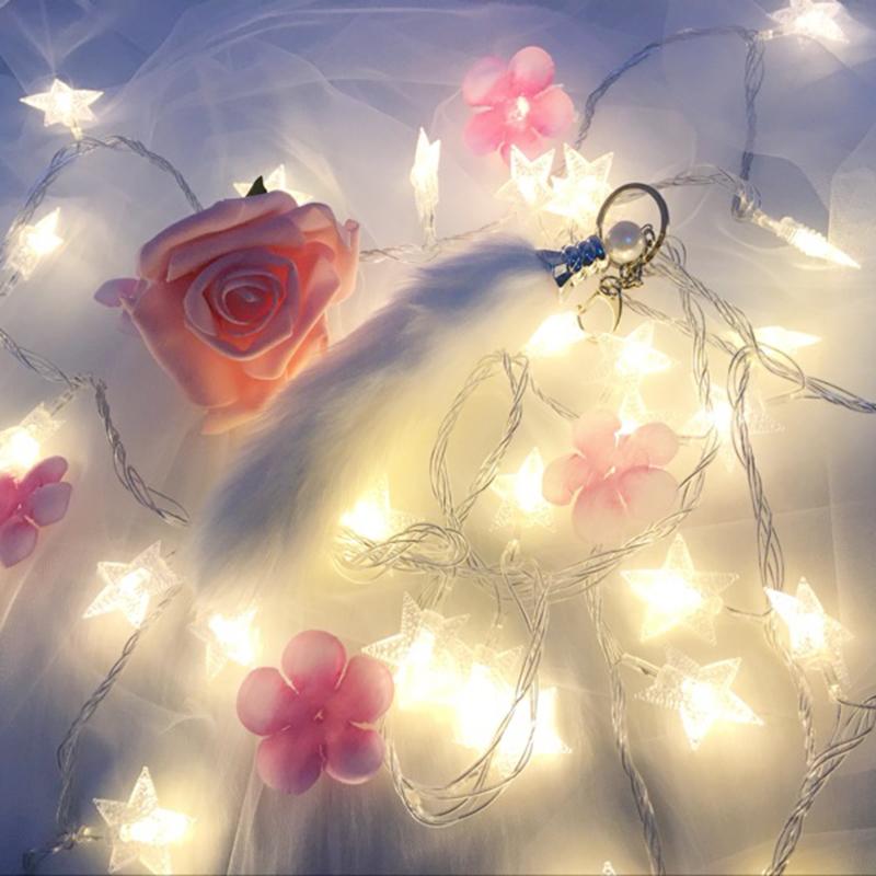 耀庆led星星灯彩灯闪灯串灯满天星灯串装饰灯主播拍照小彩灯卧室