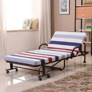 未蓝生活折叠床 单人床白领办公室午休午睡床 儿童保姆陪护床 床垫宽80cm厚8cm VLK80
