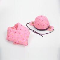冬季儿童帽子围巾两件套男童帽子女童可爱套装冬天