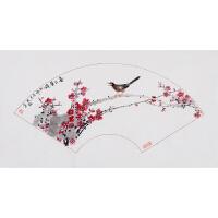 《喜上眉梢》危民旺中国陶瓷书画艺术大师