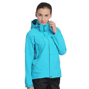 凯瑞摩karrimor冲锋衣女三合一两件套秋冬户外服装双层防寒服休闲