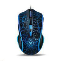 Rapoo/雷柏 V20(烈焰版)黑色 有线鼠标  CF/LOL专业游戏竞技鼠标 USB接口  全新盒装正品行货