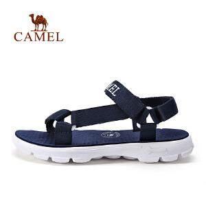 【热款直降】camel骆驼户外凉鞋 男女休闲运动凉鞋 夏季露趾透气沙滩鞋