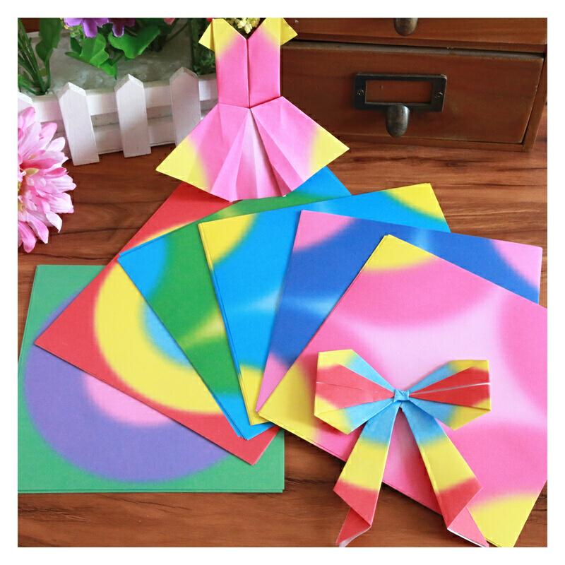 折纸 千纸鹤折纸 正方形折纸 手工彩色纸