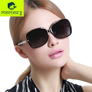 海豚太阳镜2016偏光太阳镜女圆脸轻便墨镜时尚个性驾驶潮长脸眼镜