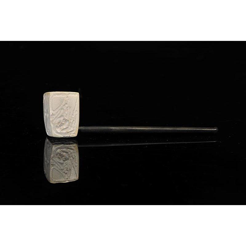 20世纪 欧洲海泡石烟斗 长16cm