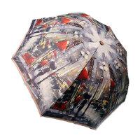 女士太阳伞防紫外线雨伞双层遮阳伞油画伞折叠晴雨两用