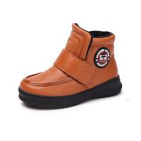 【全网百万妈妈的选择】木木屋童鞋冬季新品女童保暖鞋 儿童韩版加绒单鞋男童棉鞋潮