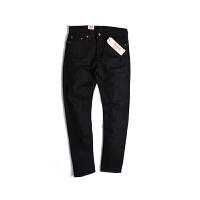 Levi's/李维斯牛仔裤男士新款黑色中腰直筒经典百搭牛仔裤05510-0414