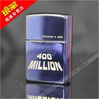 打火机zippo正版2005年蓝冰四亿纪念zipoo老机收藏级绝版限量zppo