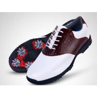 鳄鱼纹真皮鞋 商务绅士风 高尔夫球鞋 男款