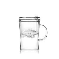 尚明飘逸杯时尚玻璃茶壶全过滤可拆洗泡茶壶玻璃茶具带内胆耐热泡茶器S007