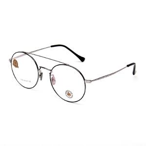明治/KHDESIGN 复古圆框金属眼镜框近视眼镜文艺眼睛框镜架男女韩版潮KS1775