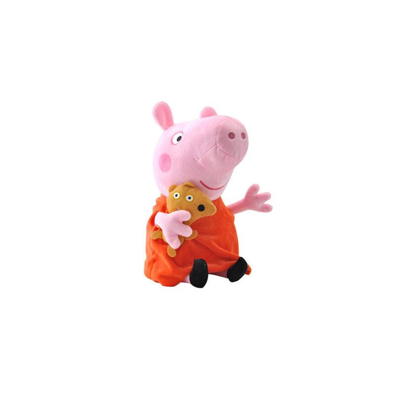 小猪佩奇peppa pig粉红猪小妹佩佩猪正版毛绒娃娃公仔玩偶可爱呆萌