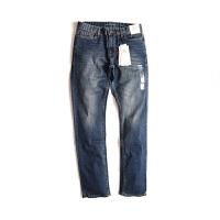 Calvin Klein卡尔文克雷恩牛仔裤时尚男士蓝色纯棉修身百搭牛仔长裤41BM846