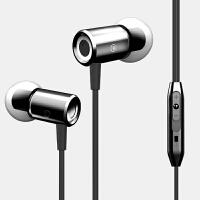 亮东方 金属耳机入耳式通用重低音mp3魔音手机耳机线控带麦耳塞式