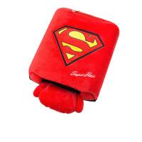 冬季可爱卡通usb暖手鼠标垫带护腕  加热保暖手套大男女用