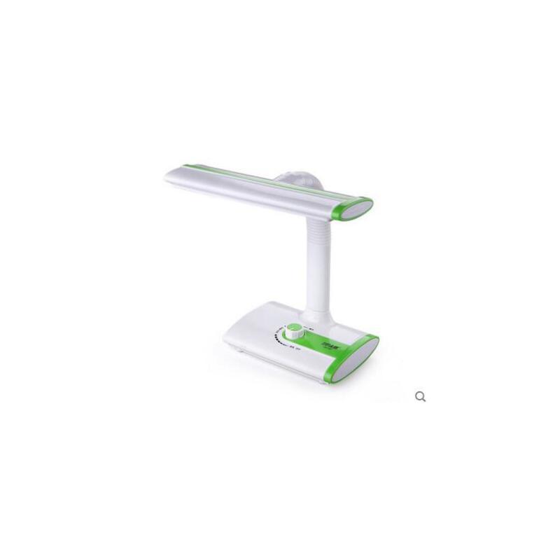 创意充电池暖白双光调光led小台灯 大学生宿舍用书桌台灯 暖色无线充