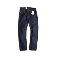 Levi's/李维斯 男士牛仔长裤经典中腰直筒蓝色纽扣牛仔裤00501